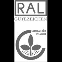 RAL Gütezeichen Substrate für Pflanzen, gilt für Naturprodukte wie Rindenhumus