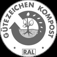 Grünkompost Prüfzeichen RAL Gütegemeinschaft Kompost