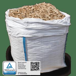Fallschutz im Big Bag mit 1 Kubikmeter 1000 l